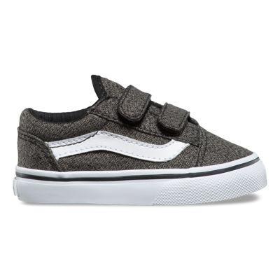 Vans Toddler Suiting Old Skool V (black/true White)