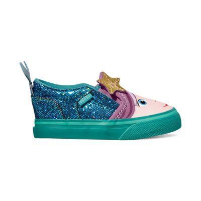 4c7a2aa2aa93 ... Shoes Canvas Rosa unicorn  premium selection b0a70 f2a19 Vans Toddler  Asher V (blossomlatigo Bay) ...