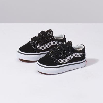 9132593d05faf9 Vans Toddler Sidestripe V Old Skool V (black true White)