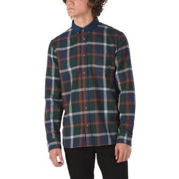 Vans Westborne Shirt (darkest Spruce Dress Blues)