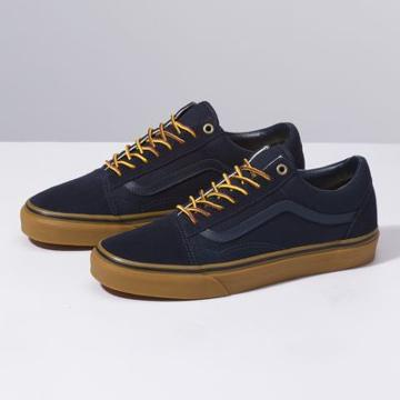 Vans Gum Old Skool (sky Captain/boot Lace)