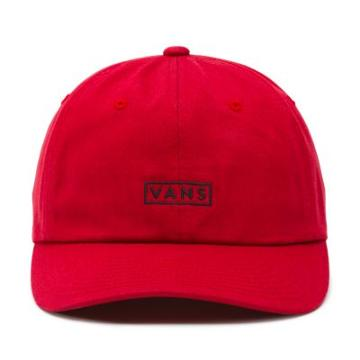 Vans Curved Bill Jockey Hat (chili Pepper)