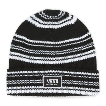 Vans Falcon Beanie (black White Stripe)