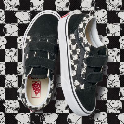 Vans Kids Vans X Peanuts Old Skool V (snoopy/checkerboard)