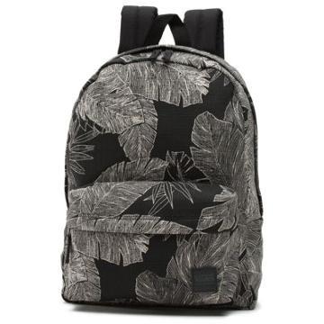 Vans Deana Iii Backpack (black Palm Fronds)