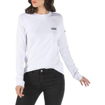 Vans Chalkboard Long Sleeve T-shirt (white)