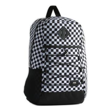 Vans Snag Backpack (black/white Check)