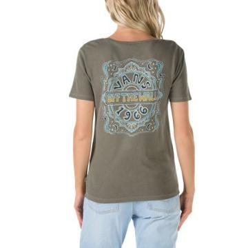 Vans Psychedelic Night T-shirt (grape Leaf)
