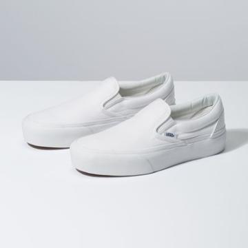 Vans Slip-on Platform (true White)