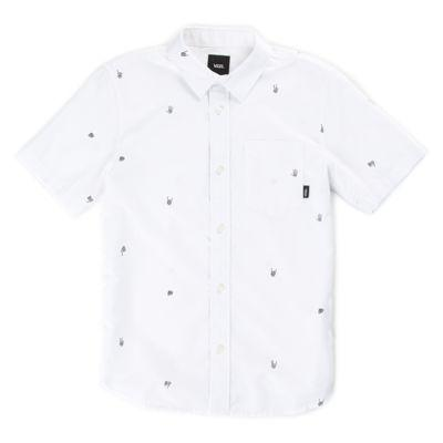 Vans Boys Houser Buttondown Shirt (boneyard)