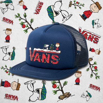 Vans Boys Vans X Peanuts Trucker Hat (peanuts Christmas)