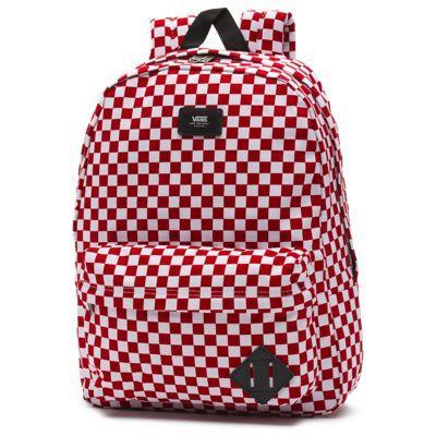 Vans Old Skool Backpack (red/white Check)