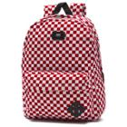 Vans Old Skool Backpack (red/white Check)