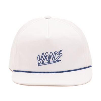 Vans Sketch Tape Shallow Unstructured Hat (white)