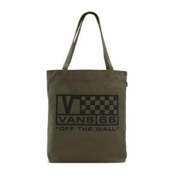 Vans Been There Done That Tote (dusty Olive/new Flag)