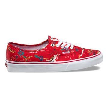 Vans Hoffman Authentic (red/happy Hawaii)