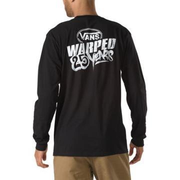 Vans Warped Tour Long Sleeve Tee (black)