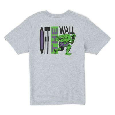 Vans Boys Vans X Marvel Hulk T-shirt (athletic Heather)