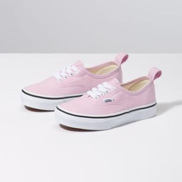 Vans Kids Authentic Elastic Lace (lilac Snow/true White)