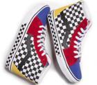 Vans Customs Checkerboard Sk8-hi (custom)