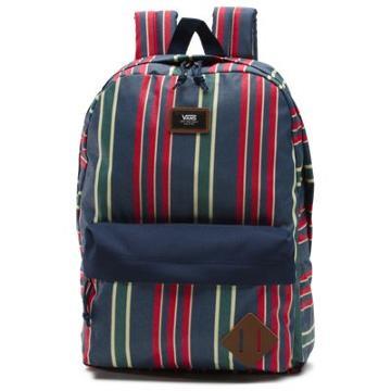 Vans Old Skool Ii Backpack (dress Blues Stripe)
