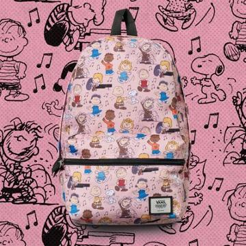 Vans X Peanuts Dance Party Calico Small Backpack (peanuts Dance Party)