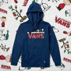 Vans X Peanuts Holiday Pullover Hoodie (dress Blues)