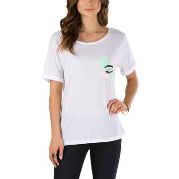 Vans Kendra Dandy Mod Eye Pocket T-shirt (white)