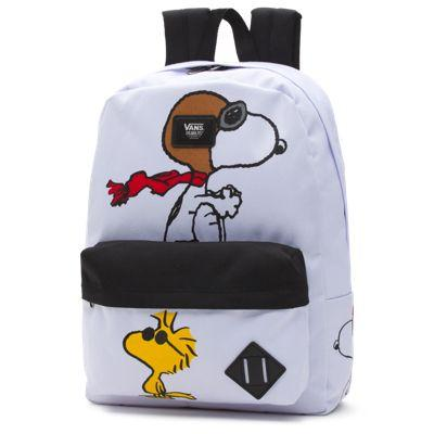 Vans X Peanuts Old Skool Backpack (white)