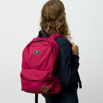 Vans Old Skool Backpack (rhumba Red)