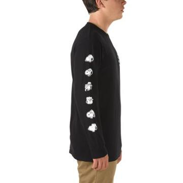 Vans X Peanuts Snoopy's Brothers Long Sleeve T-shirt (black)