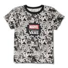 Vans X Marvel Women Baby Tee (black)