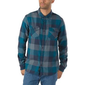 Vans Box Flannel Shirt (corsair Stormy Weather)