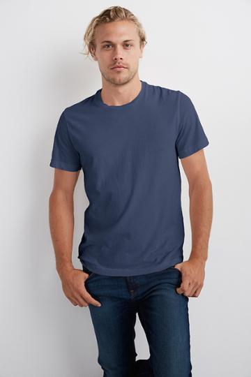 Velvet Men Howard Whisper Classic Crew Neck Tee-chisel-whisper