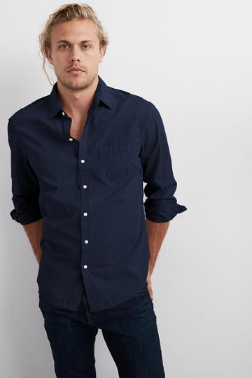 Velvet Men Fletch Woven Button-up Shirt-chisel-wvnshirt