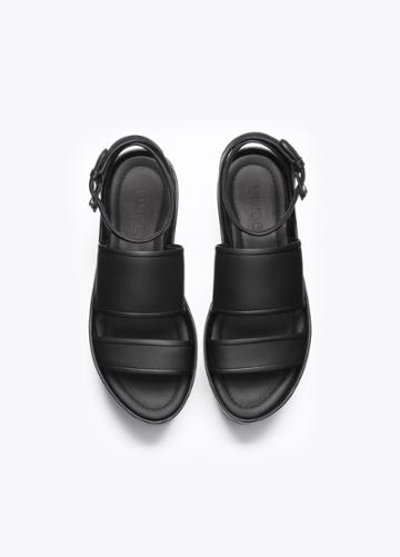 Vince Vienna Leather Platform Sandals