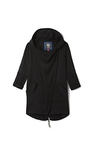 Vince Camuto Vince Camuto Hooded Drape Jacket