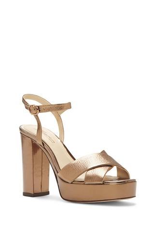 Imagine Vince Camuto Valora2 - Metallic Platform Sandal