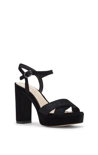 Imagine Vince Camuto Valora3 - Velvet Platform Sandal
