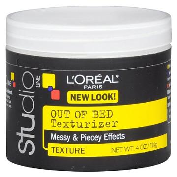 L'oreal Studio Line Unkempt Out Of Bed Texturizing Gel-cream