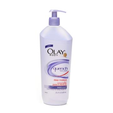 Olay Body Quench Daily Body Lotion Plus Shimmer