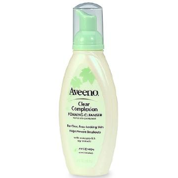 Aveeno Clear Complexion Foaming Facial Cleanser
