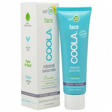 Coola Mineral Face Matte Finish Suncare, Spf