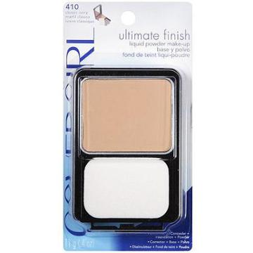Covergirl Ultimate Finish Liquid Powder Makeup, Classic Ivory [410] 0.40 Oz