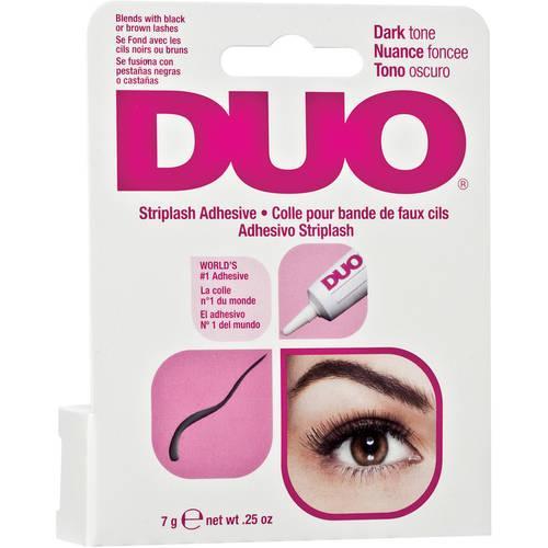 Duo Water Proof Eyelash Adhesive, Dark Tone 1/4 Oz
