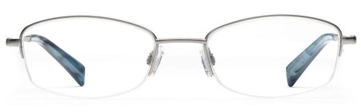Warby Parker Eyeglasses - Wally In Jet Silver