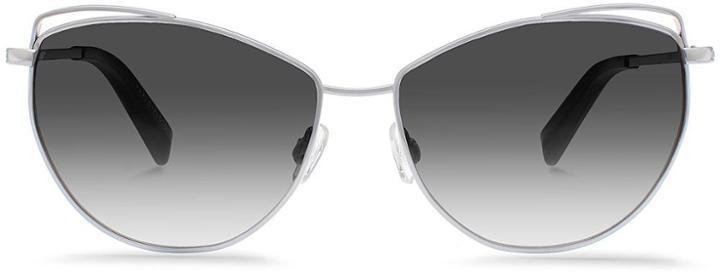 Warby Parker Sunglasses - Marple In Heirloom Silver