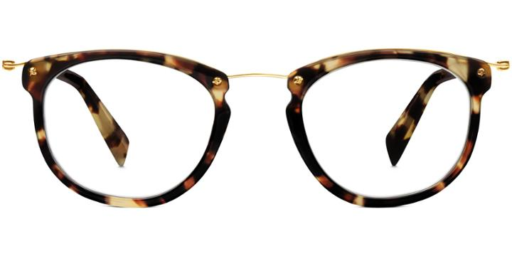 Warby Parker Eyeglasses - Moriarty In Burnt Lemon Tortoise