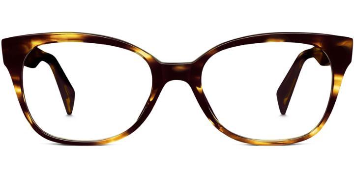 Warby Parker Eyeglasses - Collis In Striped Sassafras