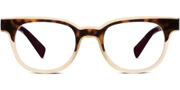 Warby Parker Eyeglasses - Duckworth In Cognac Tortoise Cashew